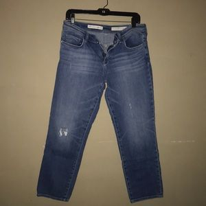 Pilcro Mid-Rise Hyphen Medium Wash Jeans